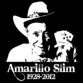 Amarillo Slim Tribute - T-shirt