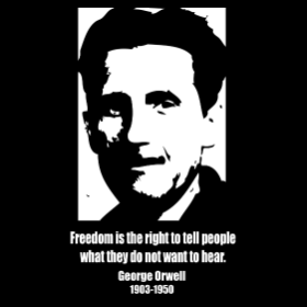 A Tribute to George Orwell - T-shirt