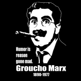 A Tribute to Groucho Marx- T-shirt