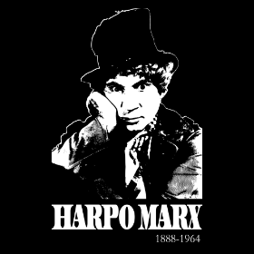 A Tribute to Harpo Marx - T-shirt
