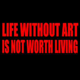 Life without art... - T-shirt