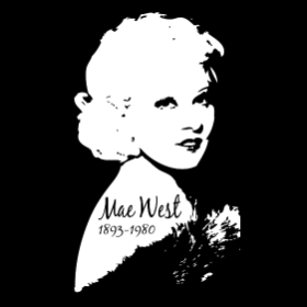 A Tribute to Mae West- T-shirt
