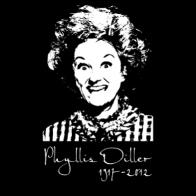 A Tribute to Phyllis Diller - T-shirt