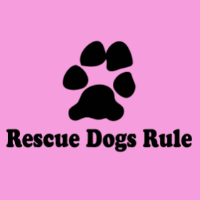 Rescue Dogs Rule - girlie T-shirt