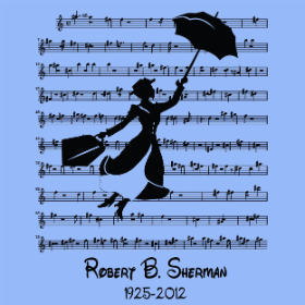 A Tribute to Robert B. Sherman - T-shirt