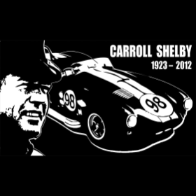 Carroll Shelby Tribute - T-shirt