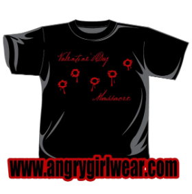 St. Valentine's Day Massacre - T-shirt