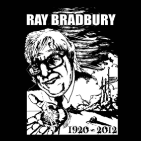A Tribute to Ray Bradbury - T-shirt