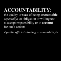 Accountability - T-shirt