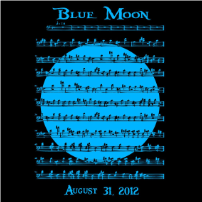 Blue Moon - T-shirt