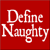 Define Naughty - girlie T-shirt