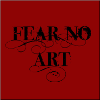 Fear No Art - T-shirt