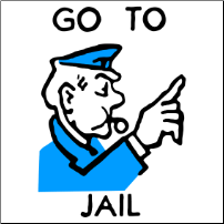 Go To Jail - T-shirt