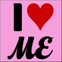 I heart Me - girlie T-shirt