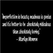 Imperfection is beauty - T-shirt