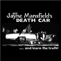 Jayne Mansfield Death Car T-shirt