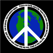 Peace On Earth - T-shirt