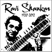 A Tribute to Ravi Shankar- T-shirt