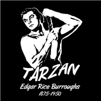 A Tribute to Edgar Rice Burroughs - T-shirt