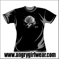 iBall - Fitted Girlie Tee