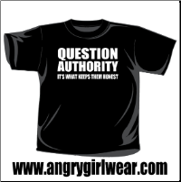 Question Authority - T-shirt