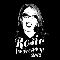Rosie for President - T-shirt