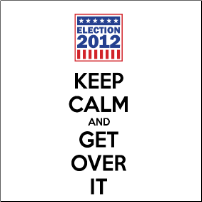 Keep Calm and Get Over It - T-shirt
