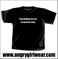 If I have offended you in any way - T-shirt
